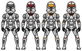 Republic trooper armor by kidmicro