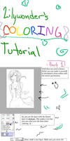 Coloring Tutorial (Part 1)[Skin] by Lilywonder