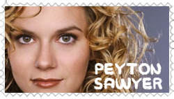 OTH Stamp - Peyton Sawyer by lilith-lips