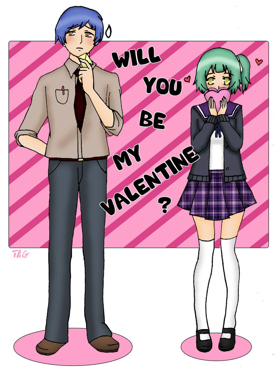 Will you be my Valentine? by lilith-lips