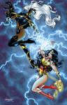 Storm vs. Wonder Woman