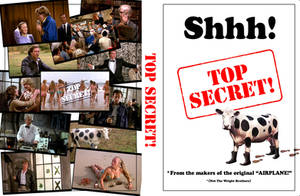 'TOP SECRET' DVD Cover