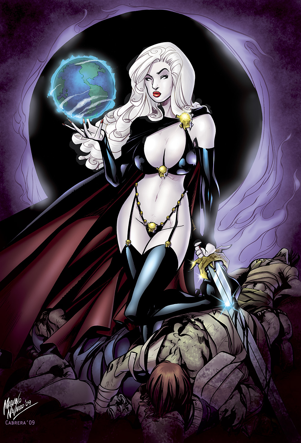 Lady death naked porn home women