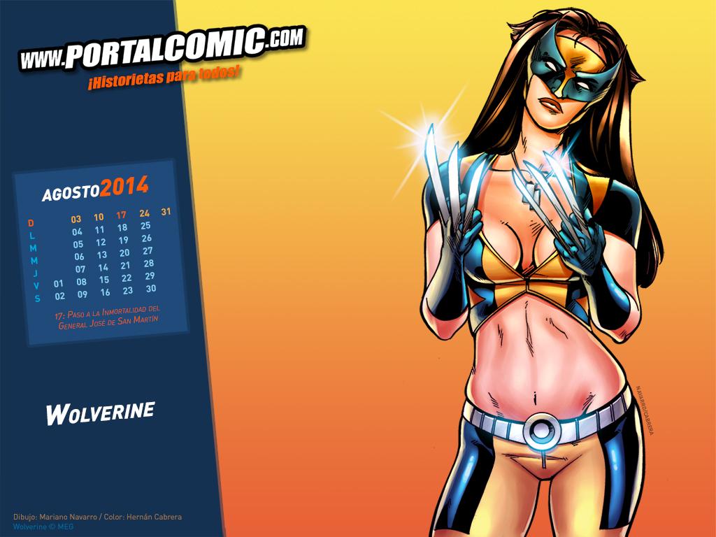 Wolverine by PortalComic