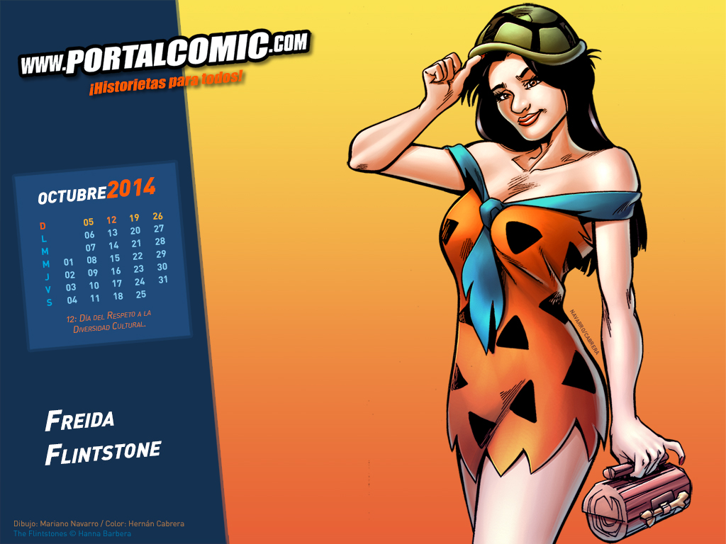 Freida Flintstone by PortalComic