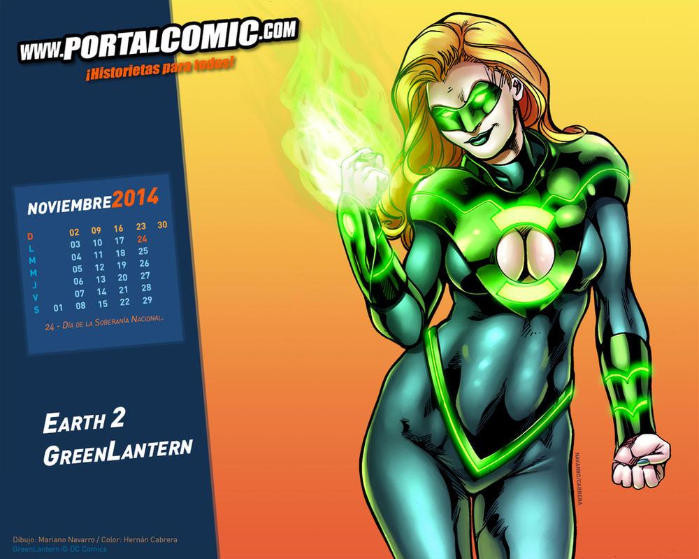 Earth 2 Green Lantern by PortalComic