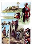 Caballero Rojo  - Prueba de color (color sample)