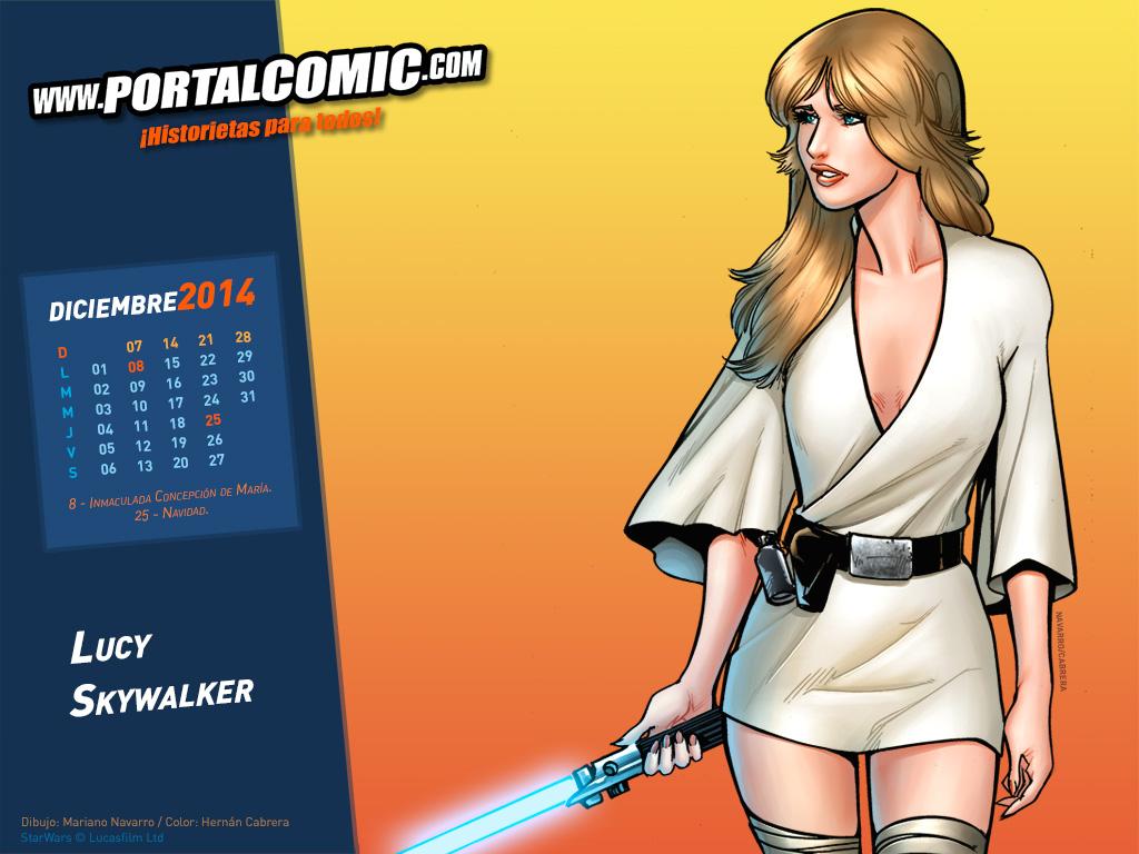 Lucy Skywalker by PortalComic
