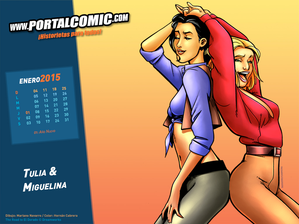 Tulia and Miguelina by PortalComic