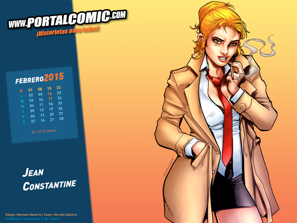 Jean Constantine by PortalComic