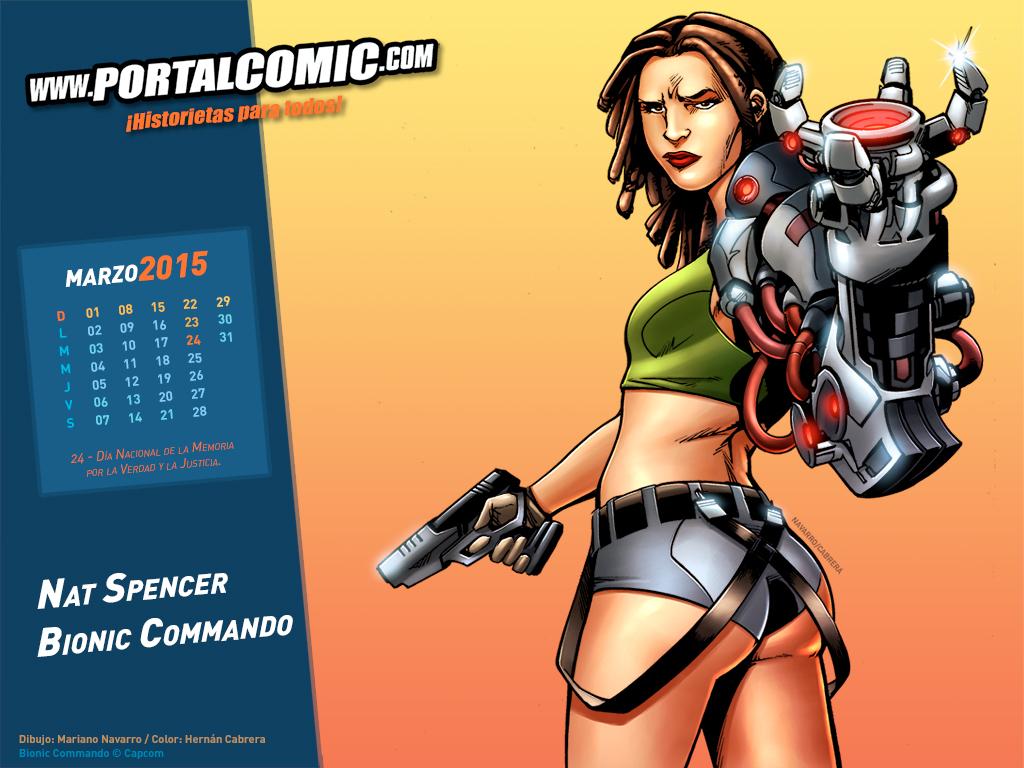 Nat Spencer - Bionic Commando by PortalComic