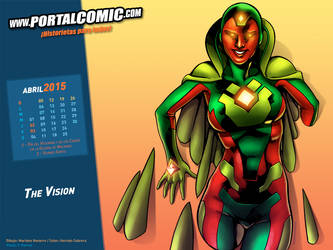 The Vision by PortalComic