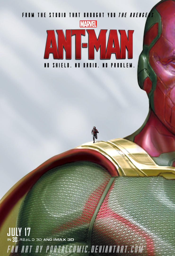 Ant-Man feat. Vision by PortalComic