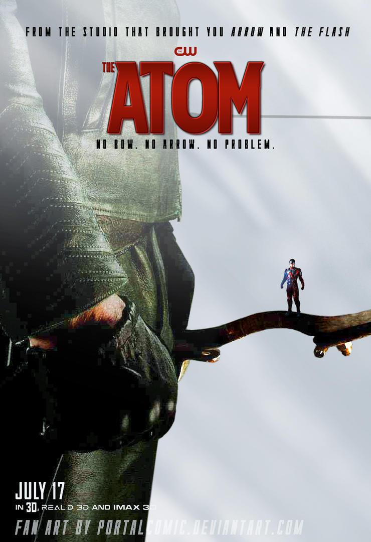 The Atom Poster ARROW by PortalComic