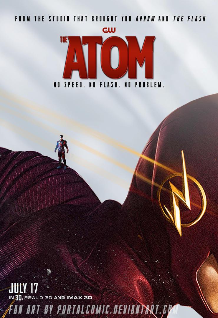 The Atom Poster FLASH by PortalComic