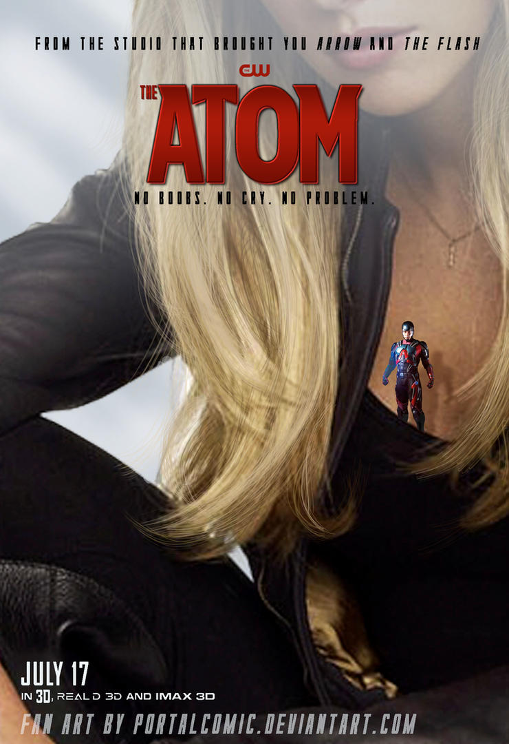 The Atom Poster CANARY by PortalComic