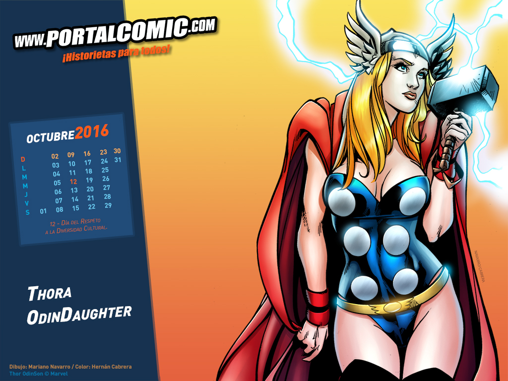 Thora Odindaughter by PortalComic