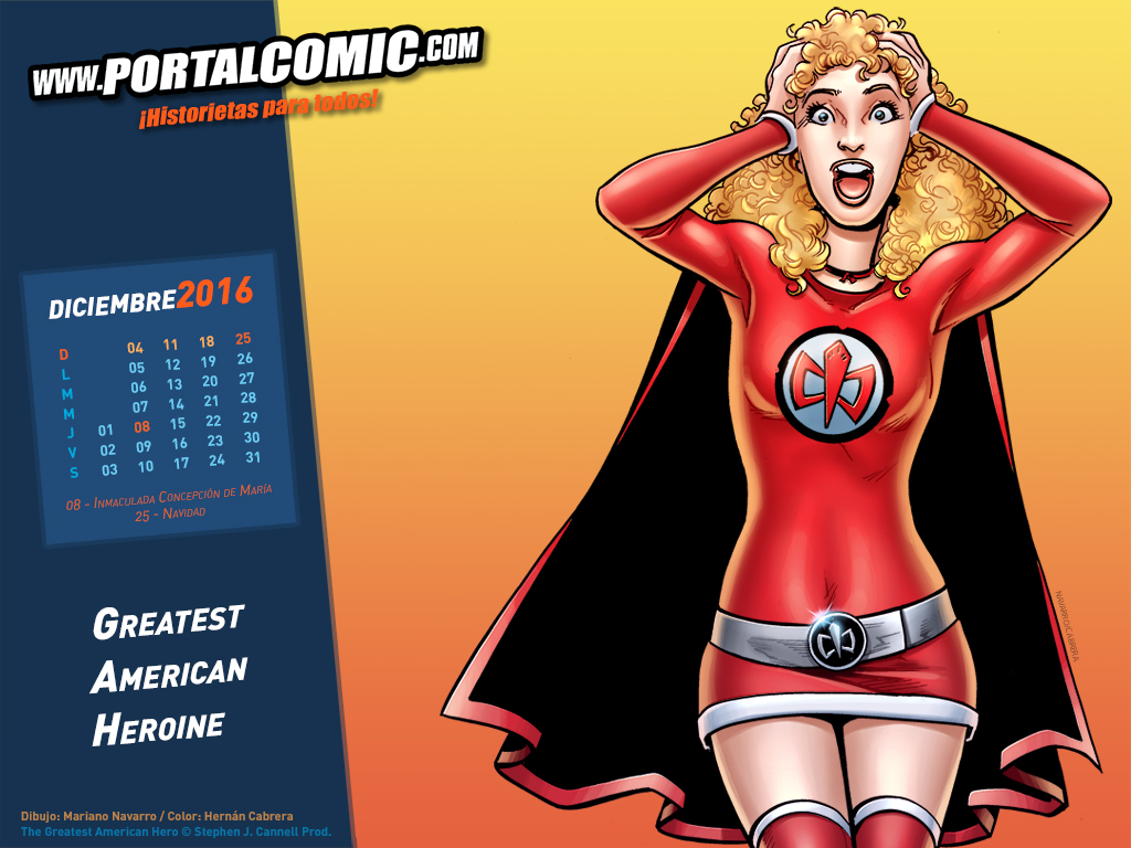 Greatest American Heroine by PortalComic