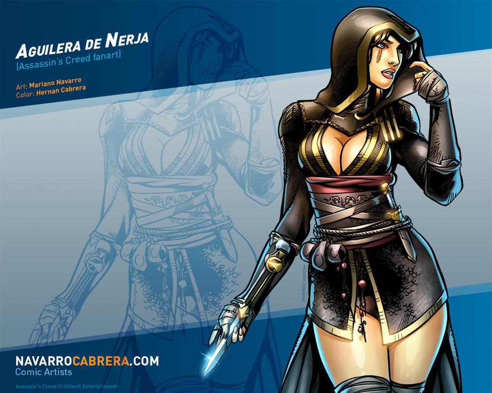 Aguilera de Nerja - FanArt by PortalComic