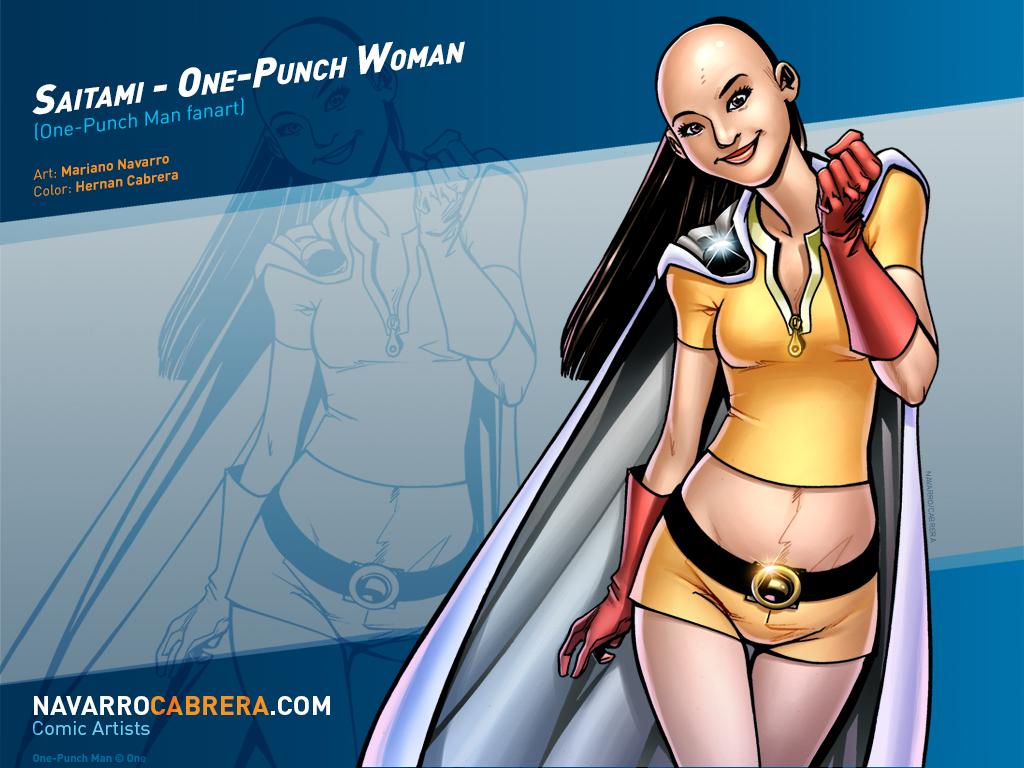 Saitami - One-Punch Woman (One-Punch man fanart) by PortalComic