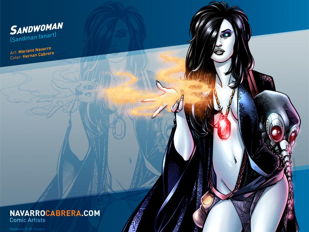Sandwoman (Sandman fanart) by PortalComic