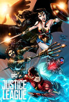 Justice League FanArt by PortalComic