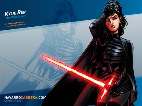 KYLIE REN (Star Wars FANART)