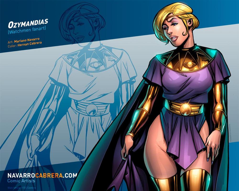 Ozymandias (Watchmen fanart) by PortalComic