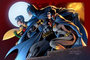 Batman - Alan Davis-Mark Farmer - COLOR SAMPLE