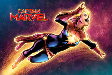 Captain Marvel by PortalComic