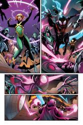 All New X-MEN - Color Sample (2018) by PortalComic