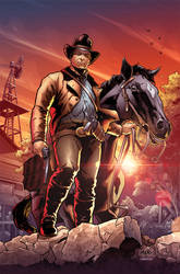 Red Dead Redemption 2 - Color Sample by PortalComic