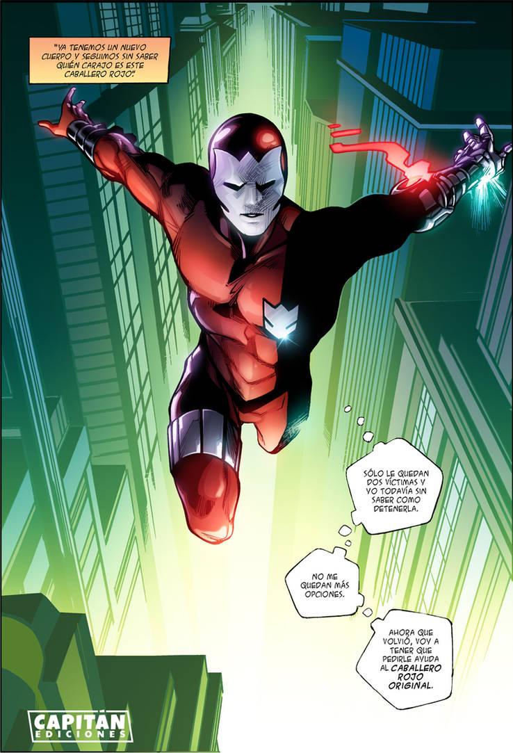 Caballero Rojo 'Volver' . Red Knight 'ComeBack' by PortalComic