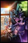 Batgirl - COLOR SAMPLE