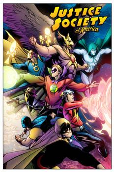 Justice Society 80th anniversary