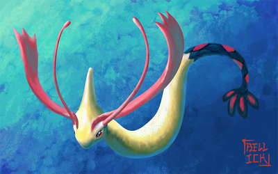 Milotic by Bellick