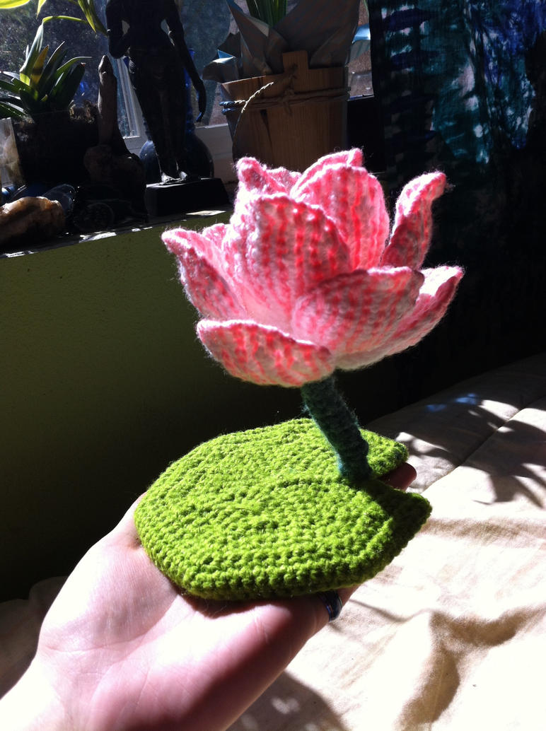 Crochet Lotus Flower Pattern Free