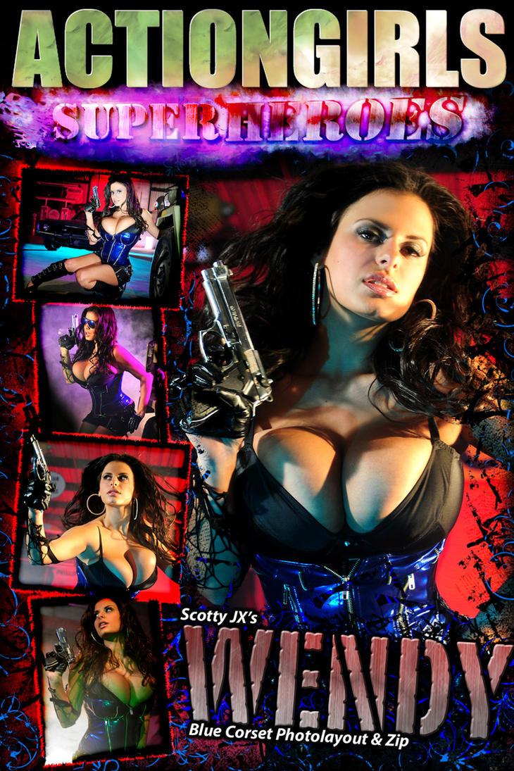 Actiongirls Wendy Fiore by ScottyJX
