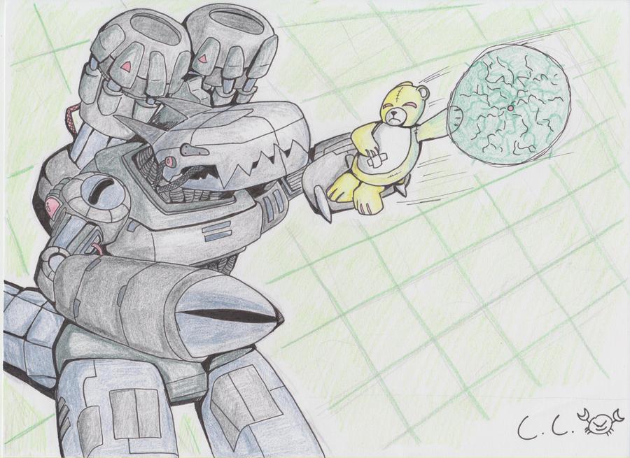 Monzaemon VS. Machinedramon