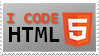 Stamp - I Code Html5 by CoNfu5eDme