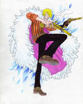 One Piece- Sanji by Gasperman100