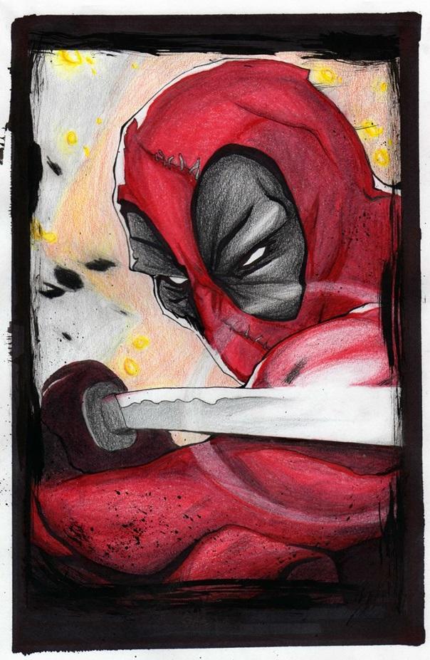 Deadpool by Gasperman100