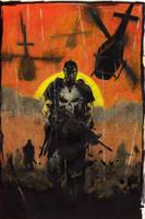 Frank Castle- Punisher by Gasperman100