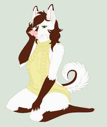 Sweet Sweater Lady