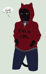 Yup, I'm a cat.