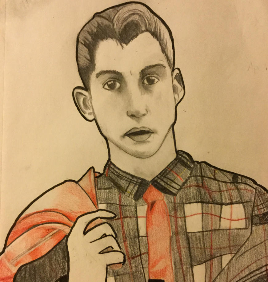 Bad drawing of Alex Turner by LizWright134