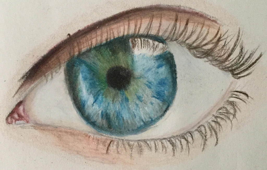 Eye Drawing by LizWright134