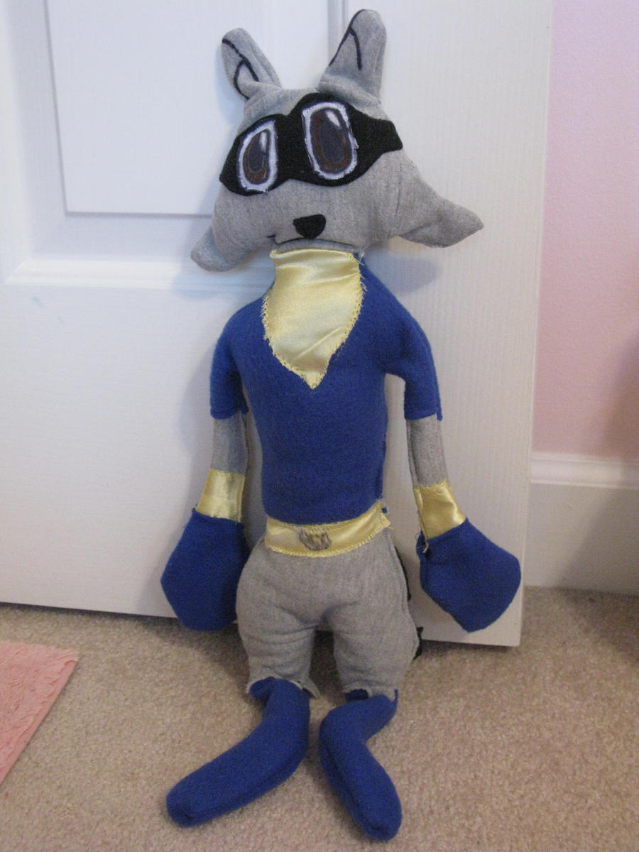 Sly Cooper Stuffed Animal, Sly Cooper Plushie By Slycooperrocks101 On Deviantart