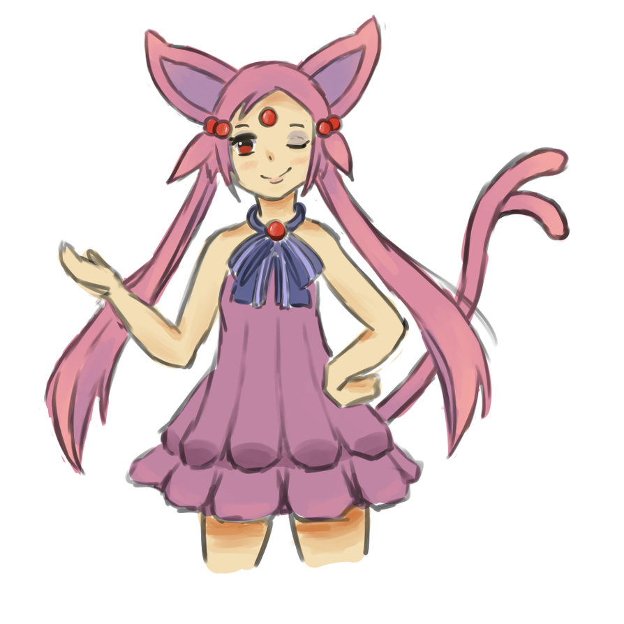 Espeon Human Version by ChurpHerpDerp on DeviantArt