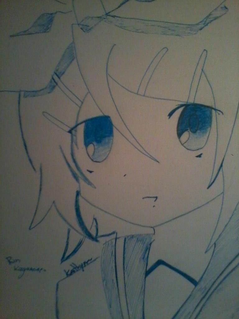 Kagamine Rin by Bloodykathychan